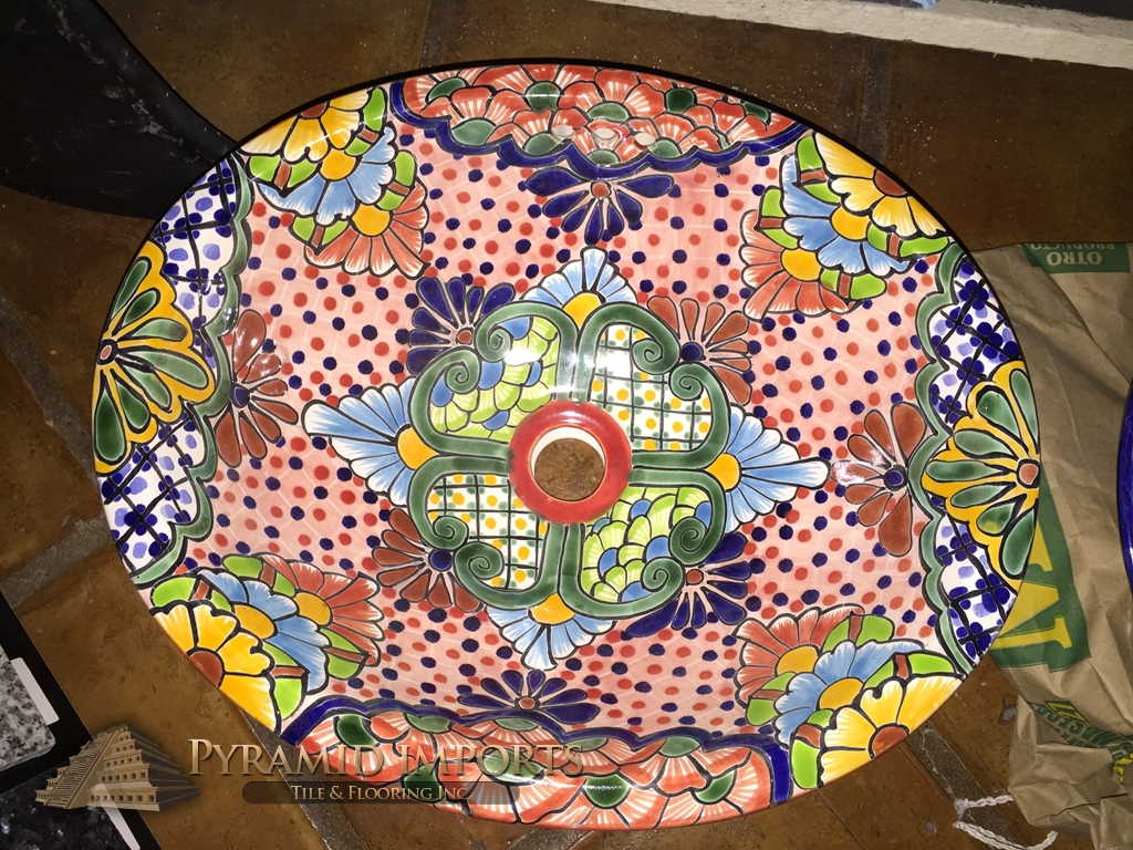 Talavera Tile Houston Hand Painted Tile